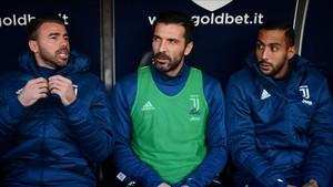 Buffon fue suplente ante la Sampdoria