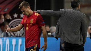 Canales se lesionó en el partido de España frente a Alemania de la UEFA Nations League