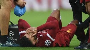 Chamberlain durante el partido contra la Roma en la ida de semifinales de la Champions