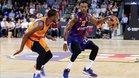Cory Higgins en una acción contra Valencia Basket