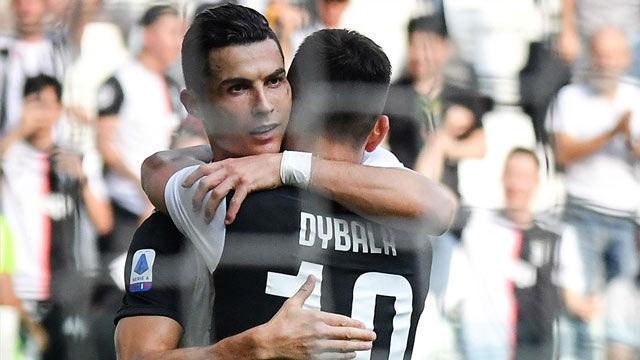 Cristiano anotó el segundo gol de la Juve tras una gran jugada de la colectiva