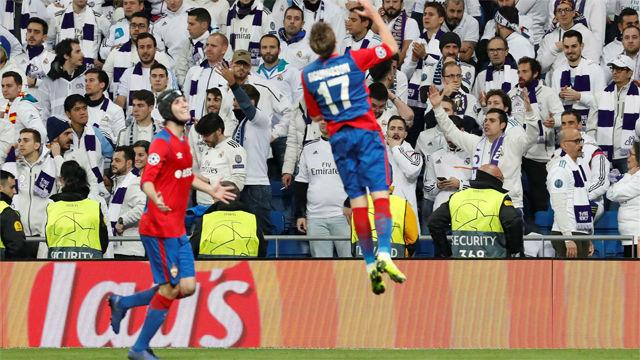 El CSKA asalta el Bernbéu