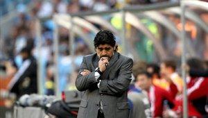 Diego Maradona no tuvo una gran trascendencia como técnico de la selección de Argentina