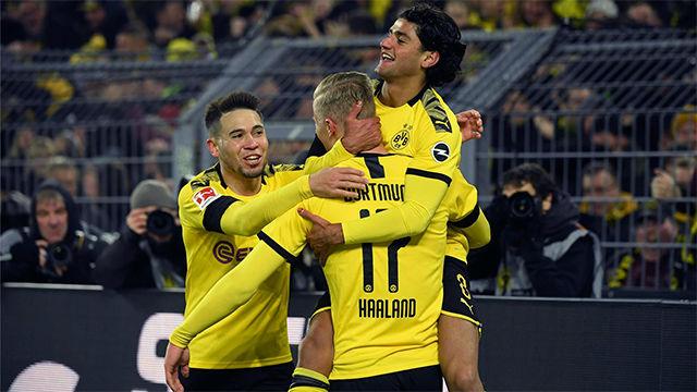 El Dortmund hace los debertes ante el Colonia
