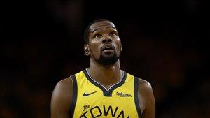 Durant jugando con los Warriors
