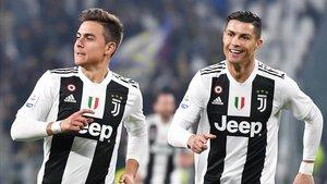 Dybala y Cristiano, los referentes de la Juventus en ataque