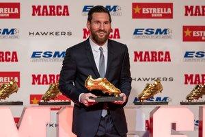 Entrega Bota de Oro a Leo Messi