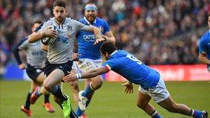 Escocia se impuso sin problemas ante Italia en Murrayfield