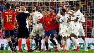 España cayó ante Inglaterra