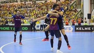 Esquerdinha y Sergio Lozano, en la victoria en Jaén