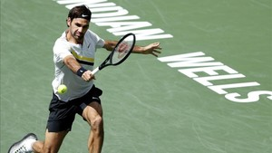 Federer, de nuevo a la final de Indian Wells y un histórico record de 17-0