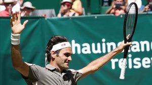 Federer podría ganar su noveno Wimbledon.
