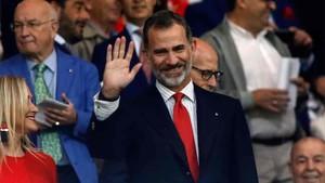 Felipe VI estará en la final de la Copa del Rey 2018