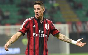Fernando Torres ha cumplido una decepcionante media temporada en Milán