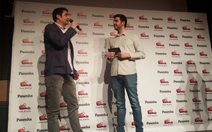 Gaby Ruiz, en la gala de los Premios Panenka 2015