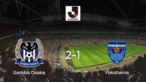El Gamba Osaka se lleva tres puntos tras vencer 2-1 al Yokohama