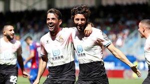 Un gol de Granero selló la vital victoria del Espanyol en Ipurua