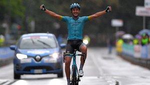 Gran victoria del ciclista vasco