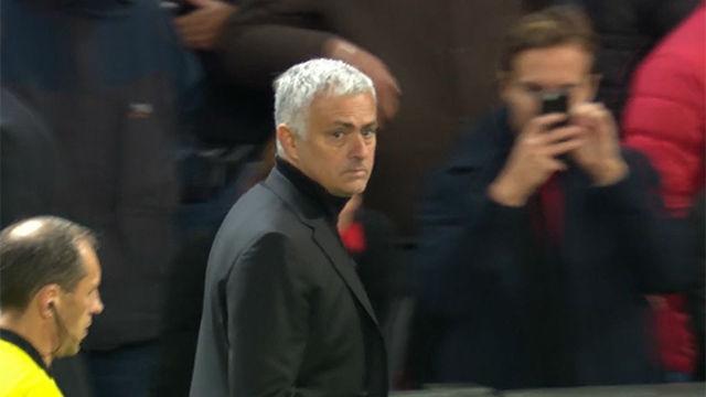 Imperdible: La cara de Mourinho, un auténtico poema tras ser superado por la Juventus