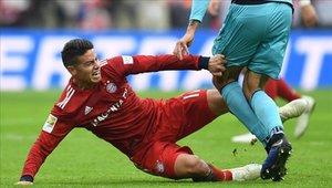 James Rodríguez regresó hace poco de una lesión