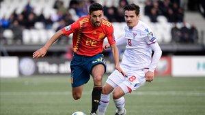 Jesús Navas colaboró con un gol a la victoria de España ante las Islas Feroe