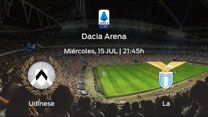 Jornada 33 de la Serie A: previa del duelo Udinese - Lazio