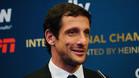 Juliano Belletti habla durante una rueda de prensa en la presentación de la International Champions Cup