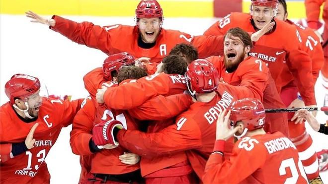 Rusia gana el oro olímpico de hockey tras batir a Alemania en la prórroga
