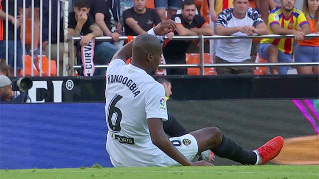 Kondogbia se rompió contra el Betis