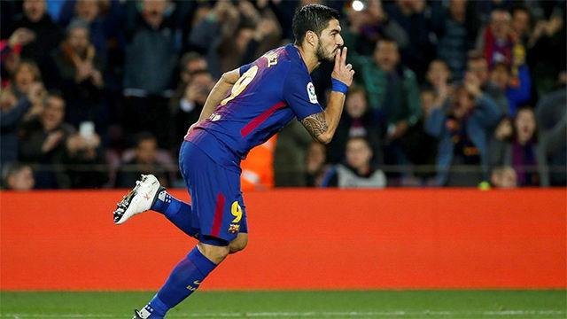 LALIGA | Barcelona - Alavés (2-1): Suárez amplió su racha e inició la remontada del Barça