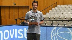Laprovittola, con el galardón de MVP