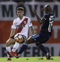 Las promesas que sigue el FC Barcelona en Sudamérica: Gonzalo Montiel (River Plate). Defensa. 21 años. Estatura: 1,78 cms. Peso: 69 kgs.