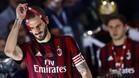 Leonardo Bonucci, al perder la final de la Copa Italia entre Juventus FC y AC Milán