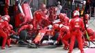 Los problemas han vuelto a Ferrari y su ventaja se ha diluido