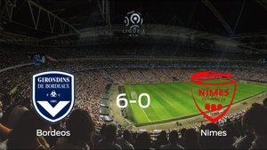 Los tres puntos se quedan en casa: goleada del FC Girondins Bordeos al Olimpique de Nimes (6-0)