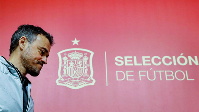 Luis Enrique: No hablo de los no convocados