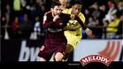 Messi cerró el marcador en Villarreal