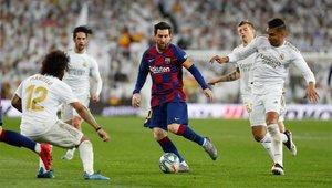 Messi no estuvo acertado en el Clásico
