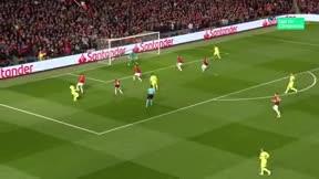 Messi fue clave en la jugada de gol ante el United