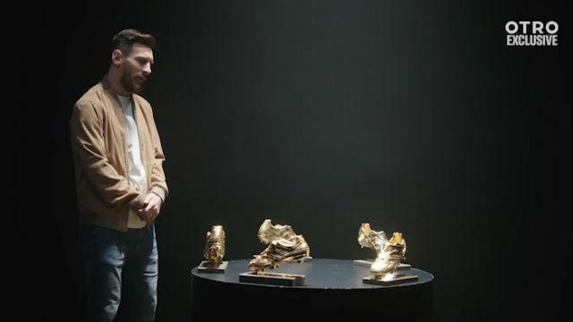 Messi recuerda que ganó las Botas de Oro gracias a la ayuda de sus compañeros