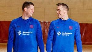 Möller (izquierda) y Andersson se medirán al vigente campeón de su país
