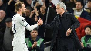 Mourinho quiere que Eriksen siga en el Tottenham varias temporadas más