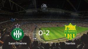 El FC Nantes se queda con los tres puntos después de derrotar 0-2 al AS Saint Etienne