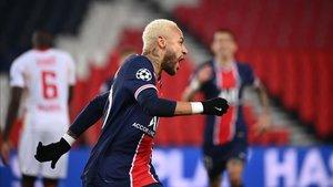 Neymar abrió la lata de penalti.