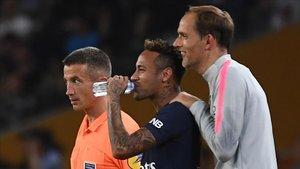 Neymar y Thomas Tuchel mantienen una peculiar relación