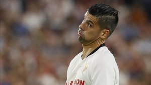 Nolito, jugador del Sevilla, acaba contrato el 30 de junio