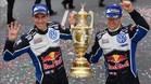Ogier y su copiloto Ingrassia celebran su cuarto título WRC
