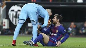 La parada de Jaume fue clave para impedir que el Barça se metiese en el partido