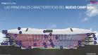El perfil interior delnuevo Camp Nou con sus 30 características más destacadas