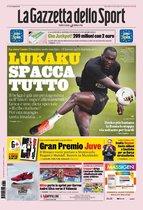 Portada de La Gazzetta dello Sport del 14 de agosto